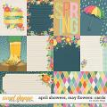 April Showers, May Flowers: CARDS by Studio Flergs
