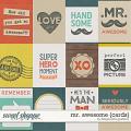Mr. Awesome {cards} by Blagovesta Gosheva