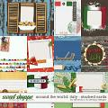 Around the world: Italy - stacked cards by Amanda Yi and WendyP Designs