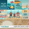 Aussie Life: Beach- CARDS by Digilicious, DSI & Flergs