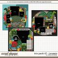 Cindy's Layered Templates - Trio Pack 47: Jurassic by Cindy Schneider