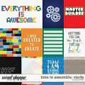 Time To Assemble: Cards by Grace Lee