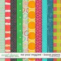 Eat Your Veggies! - Bonus Papers by Red Ivy Design