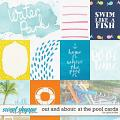 Out and About: At the Pool Cards by Grace Lee