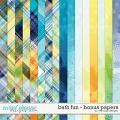 Bath fun - bonus papers by WendyP Designs