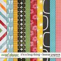It's a Bug Thing - Bonus Papers by Red Ivy Design