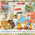 Around the world: Egypt - Mixed Media by Amanda Yi and WendyP Designs