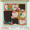 Brook's Templates - Singleton 74 - Apples Academy by Brook Magee