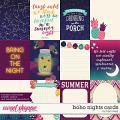 Boho Nights Cards by Traci Reed