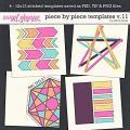 Piece by Piece v.11 Templates by Erica Zane