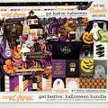 Get Festive: Halloween Bundle by Kristin Cronin-Barrow & Digital Scrapbook Ingredients