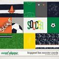 Biggest Fan Soccer Cards by Dream Big Designs