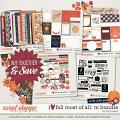 I Love Fall Most of All Traveler's Notebook Bundle by Traci Reed