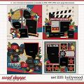 Cindy's Layered Templates - Set 220: Hollywood by Cindy Schneider