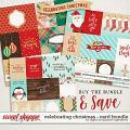 Celebrating Christmas: Card Bundle by Digital Scrapbook Ingredients
