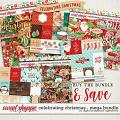 Celebrating Christmas: Mega Bundle by Digital Scrapbook Ingredients