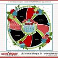 Cindy's Layered Templates - Christmas Single 24: Sweet Treats by Cindy Schneider