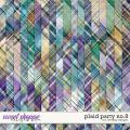 Plaid Party No.8 by WendyP Designs