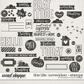 This Life: November - Stamps by Amanda Yi & Juno Designs