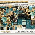 Get Festive: New Year's Bundle by Kristin Cronin-Barrow & Digital Scrapbook Ingredients
