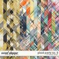 Plaid Party No.9 by WendyP Designs