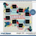 Cindy's Layered Templates - Single 181: Currently V.2 by Cindy Schneider