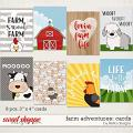 Farm Adventures: Cards by lliella designs