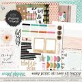 Easy Print: All New All Happy by Studio Basic