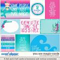 You Are Magic-Cards by LJS Designs & Meghan Mullens