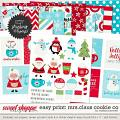 Easy Print: Mrs. Claus Cookie Co. by Melissa Bennett
