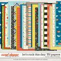 Let's rock this day TN papers by Traci Reed & WendyP Designs