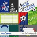 Just for Kicks Cards by Misty Cato