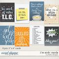 I'm Sick: Cards by lliella designs