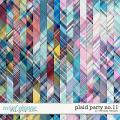 Plaid Party No.11 by WendyP Designs