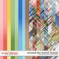 Around the world: France - Bonus Papers by Amanda Yi & WendyP Designs