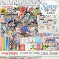 Around the world: France - Bundle by Amanda Yi & WendyP Designs