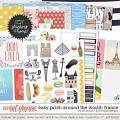 Easy Print: Around the World: France by WendyP Designs & Amanda Yi
