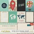 Scrap Your Stories: Travel - Cards by Studio Flergs and Kristin Cronin-Barrow