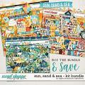 Sun, Sand & Sea Kit Bundle by Digital Scrapbook Ingredients