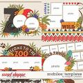 Zoobilee: Templates by Meagan's Creations