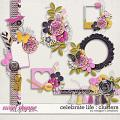 Celebrate Life : Clusters by Meagan's Creations