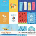 I Heart Summer: Pool Cards by Kelly Bangs Creative