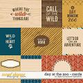 Day At The Zoo | Cards by Digital Scrapbook Ingredients