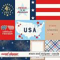 Stars And Stripes | Cards by Digital Scrapbook Ingredients