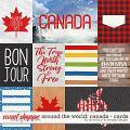 Around the world: Canada - Cards by Amanda Yi & WendyP Designs