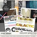 Remember the Magic: GALAXY WARS- EZ PRINT by Studio Flergs