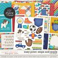 Easy Print: Snips And Snails by LJS Designs