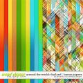 Around the world: Thailand - Bonus Papers by Amanda Yi & WendyP Designs