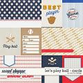 Let's Play Ball - Cards by Red Ivy Design