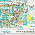 Seaside Serenity Bundle by Digital Scrapbook Ingredients